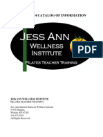 Jess Ann Wellness Institute 2013 Catalog of Information