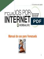 PedidosporInternet ManualdeUso Venezuela