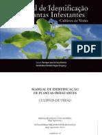 Identificação de Plantas infestantes Cultivos de Verão