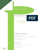 Catalogue NNDG Juin09