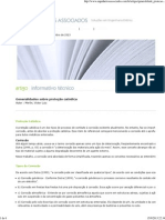 EA _ ENGENHEIROS ASSOCIADOS Generalidades sobre proteçao catódica