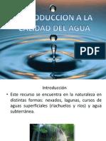 Presentacion Calidad Del Agua