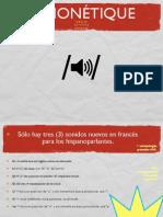 Reglas fonéticas del francés