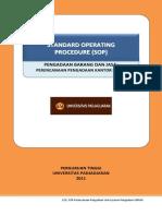 Standar Prosedur Operasi Perencanaan Pengadaan Kantor Pusat