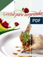 Recetario Cocina Para Sorprender Gallina Blanca Abr'09