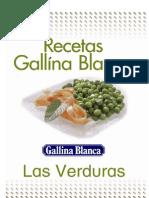 Recetario Verduras Gallina Blanca Mar'08