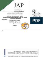 Normatividad y Acciones de Control en La Ejecucion de Obras Epd Modificado