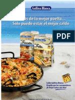 Recetario Arroces Paellas Fiedua Gallina Blanca Jun'08