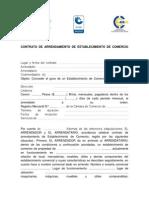 Contrato de Arrendamiento de Establecimiento de Comercio