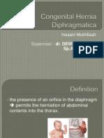 Congenital Hernia Diphragmatica