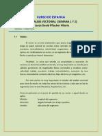 Teoria y Practica de Analisis Vectorial (Fuerzas) (Semana 1 y 2)