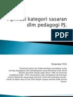 Aplikasi Kategori Sasaran Dlm Pedagogi PJ