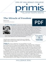 The Miracle of Freedom (Imprimus Magazine)