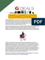Dapatkan Produk Terlaris Dengan Harga Menarik Hanya Di BIG Deals Kliknklikcom