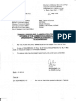 Amendment to TGC Rules dt 26 May 2009