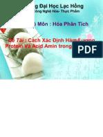 Xac Dinh Ham Luong Protein Va Acid Amin Trong Thuc Pham