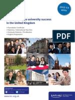 카플란 UK_Pathways_Brochure_2012-13