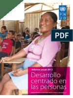 Informe Anual 2012 PNUDMexico