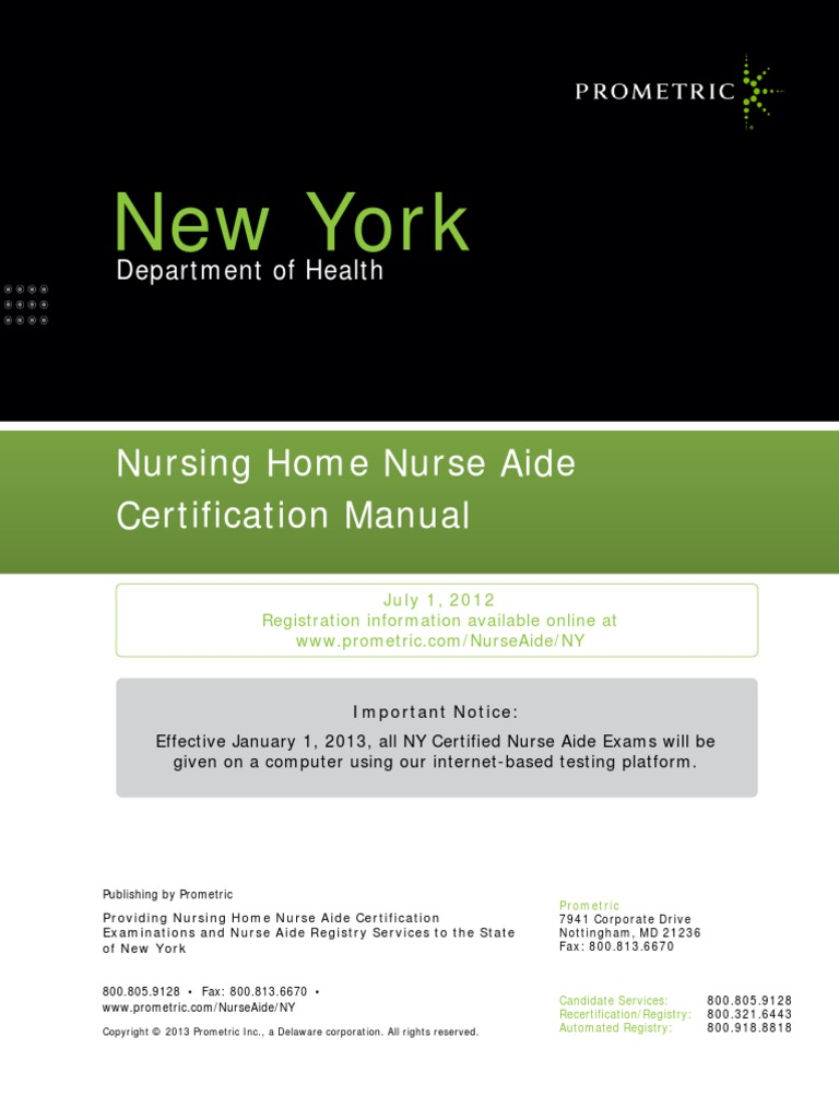 Ny nurse aide exam fees identity document test assessment xflitez Gallery