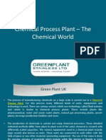 Chemical Process Plant – The Chemical World