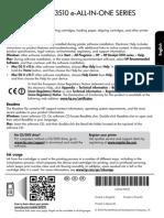 HP Deskjet Ink Advantage 3515 Reference Guide