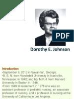 Dorothy Jonhson