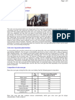Coke Oven _Byproduct Plant Details