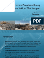 Pedoman Penataan Ruang Kawasan Sekitar Tempat Pemrosesan Akhir (TPA) Sampah (1 - Pendahuluan)