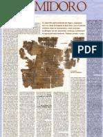 """F.Condello """"Artemidoro"""", Manifesto suppl. Alias 11 aprile 2009"""