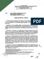 MWSS RO Resolution No.13-009-CA Manila Water