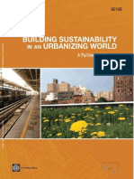 Building Sustainability in an Urbanizing World - WB 2013