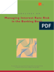 Guidelines on Managing Interest Rate Risk in the Banking Book
