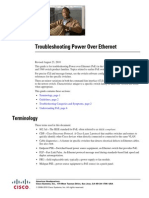 Cisco Troubleshooting Power Over Ethernet (PoE) - Troublingshooting Guide