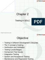 Chapter 2 - Testing in SDLC