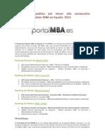 Ranking PortalMBA