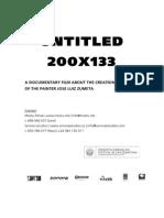 Pressbook Untitled, 200x133