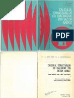 Calculul Structurilor Cu Diafragme Din Beton Armat II Postelnicu Si Agent