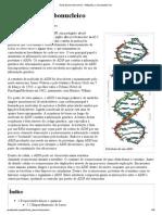 Ácido desoxirribonucleico – Wikipédia, a enciclopédia livre