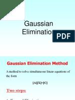 Guass Elimination