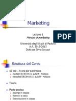 Marketing Lezione1 2013