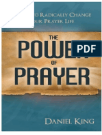 Daniel King The Power of Prayer