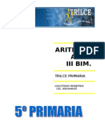 Aritmetica III Bim