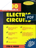 3000 Solved Problems in Electric Circuits Schaums