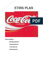 Marketing Plan COCA COLA