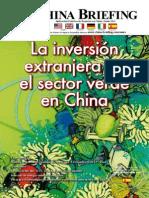 CB 2011 06 Es - La Inversion Extranjera en El Sector Verde en China