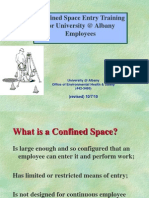 Confined Space entry Into Sanitary Pits