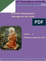 Kanchi Paramacharya Community - Message for Youth by Sri Kanchi Mahaswami - EBook # 4