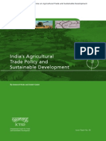 India's Agricultural Trade Policy and Sustainable Development