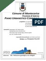 Tavola G0 - Relazione Geologica PUC Montecorice - Luglio 2013