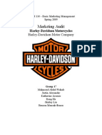 49185434 Harley Davidson Marketing Audit